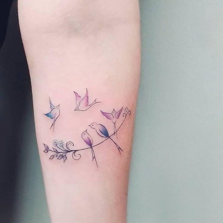 Familien Tattoo: Ideen für ein Symbol oder eine Schrift