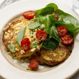 Ottolenghi Ricotta hotcakes: de-carb by using almond or coconut flour