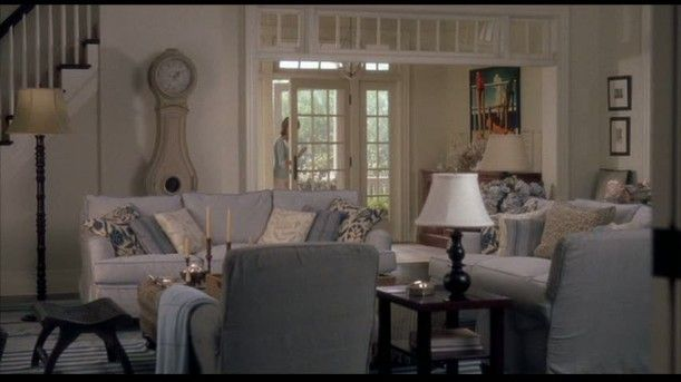 "Diane Keaton's Hamptons Beach House from the romantic comedy, ""Somethings Gotta Give"""
