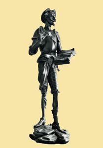 Скульптура «Дон Кихот» выполнена в1870году