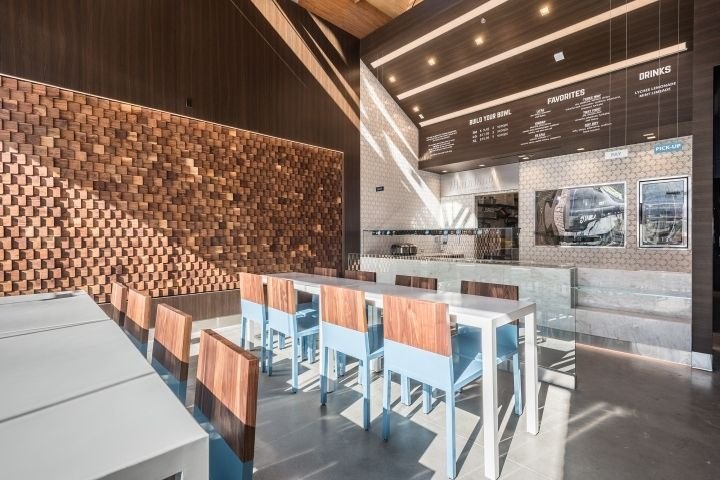 Mainland Poke restaurant by Abramson Teiger Architects Glendale  California