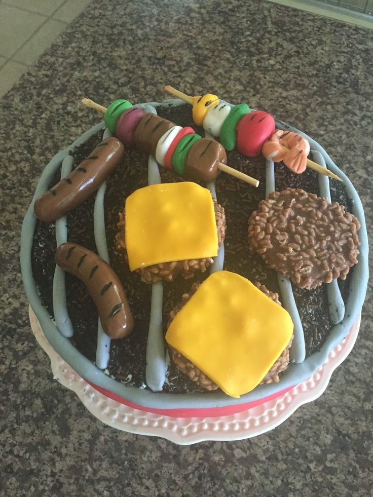 Life of the Party (Planner): Father's Day Grill Cake