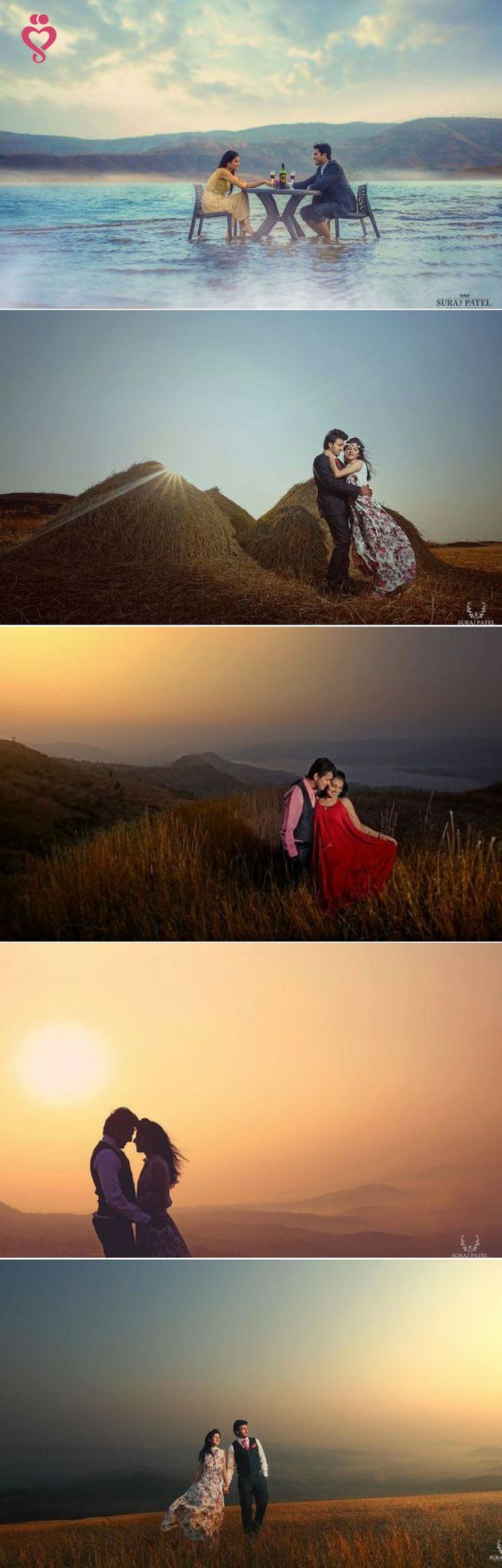 Love Story Shot - Bride and Groom in a Nice Outfits in Different locations. In the sea, in the mountains, with a sunset. Best Locations WeddingNet #weddingnet #indianwedding #lovestory #photoshoot #inspiration #couple #love #destination #location #lovely #places