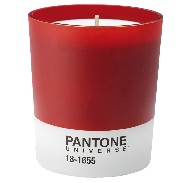 Pantone - Scented Candle 18-1655 - Grapefruit and Rosemary