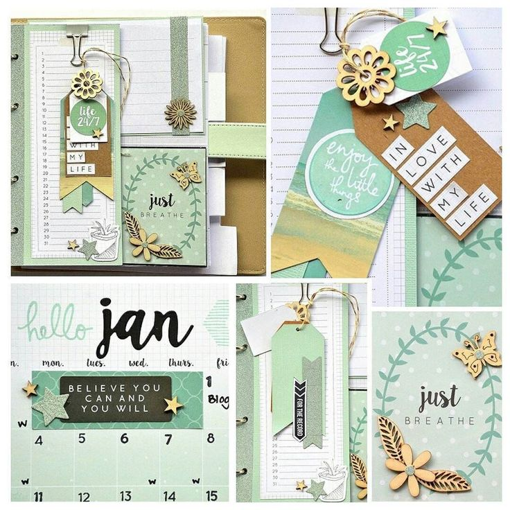 Are you ready for 2016? @spencerbelinda certainly is! Check out her 2016 journal planner featuring our My Year My Story collection (eye spy so much minty goodness!!) #kaisercraftjournalplanners #mint by kaisercraft