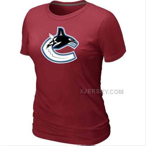 http://www.xjersey.com/nhl-vancouver-canucks-big-tall-womens-logo-red-tshirt.html NHL VANCOUVER CANUCKS BIG & TALL WOMEN'S LOGO RED T-SHIRT Only $26.00 , Free Shipping!