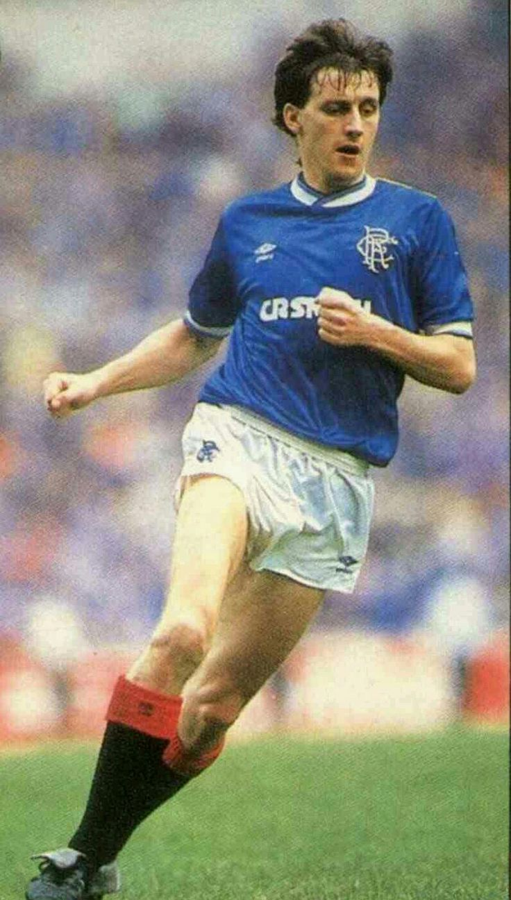 Bobby Russell of Rangers in 1985.
