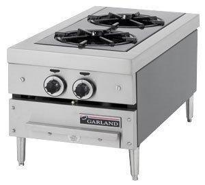Natural Gas Garland GTOG12-2 2 Burner Countertop Range  #Garland_/_US_Range #Major_Appliances