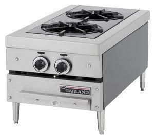Natural Gas Garland GTOG12-2 2 Burner Countertop Range  #Garland_/_US_Range #Major_Appliances