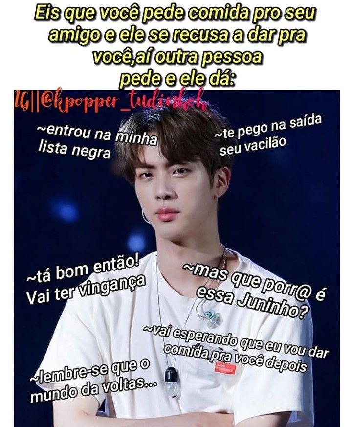Referencia Juninho Bts Engracado Bts Memes Memes Engracados