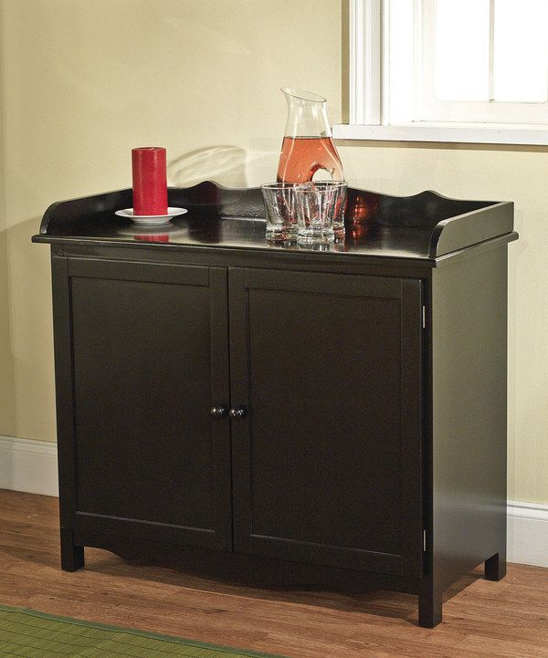 Black Farmhouse Buffet. Could be used as a change table to hehe.
