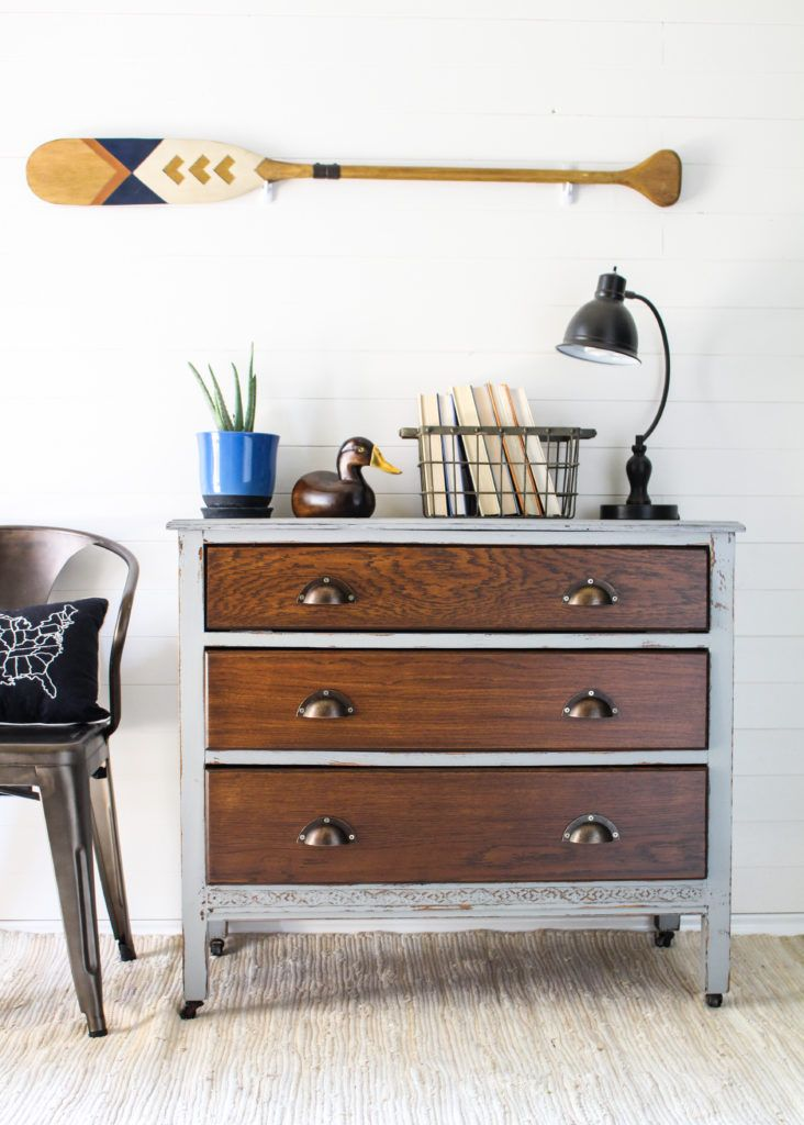 Industrial Style Boys Dresser - Team Sutton Designs