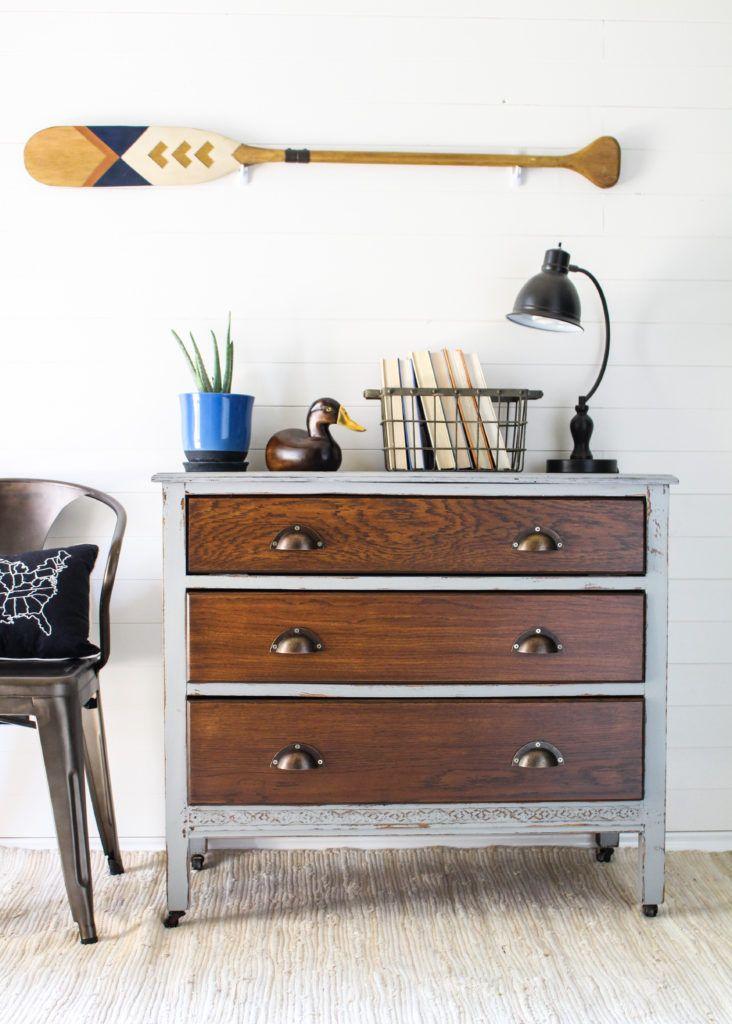 Industrial Style Boys Dresser - Team Sutton Designs