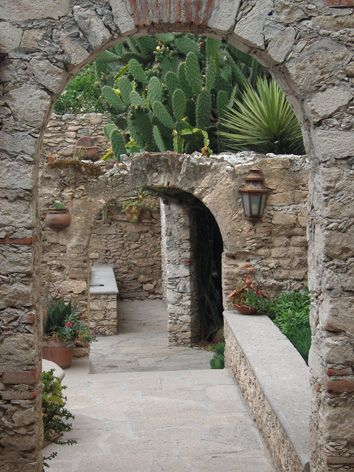 Posada de las Minas, Mineral de Pozos, Guanajuato, México