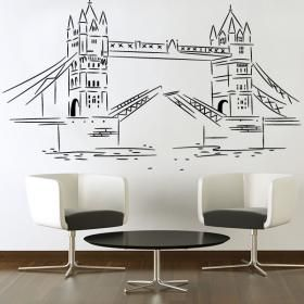 Vinilos Decorativos Stickers London Tower Bridge #viniloscasa #vinilosdecorativos #pegatinas #adhesivos #decoracioninteriores #pegatinasparedes #decoracionparedes #decorarparedes #home #followme #follow #casas #sticker #stickers