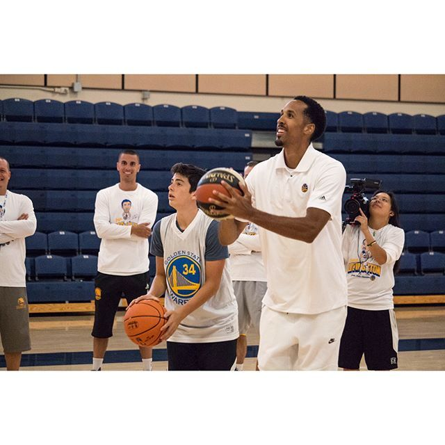 This week the Otter Sports Center is hosting the Warriors Basketball Camp! This experience gives campers the opportunity to improve their game, skills, and even compete on the court with Shaun Livingston & Zaza Pachuli! . . . #GoldenStateWarriors #CSUMB #WeAreMB #KelpBed #Otterritory #WarriorsBasketballCamp #montereylocals #csumblocals - posted by Cal State Monterey Bay https://www.instagram.com/csumb - See more of CSUMB in Monterey, CA at http://csumblocals.com