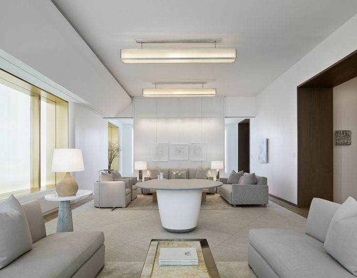 Architect Lee Mindel designed the interior of the sales office for Foster + Partners' tower 551W21.     in News Design.