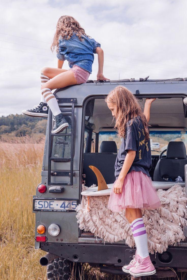 Loving tube socks on little girls. #designer #kids #fashion The Wanderers.