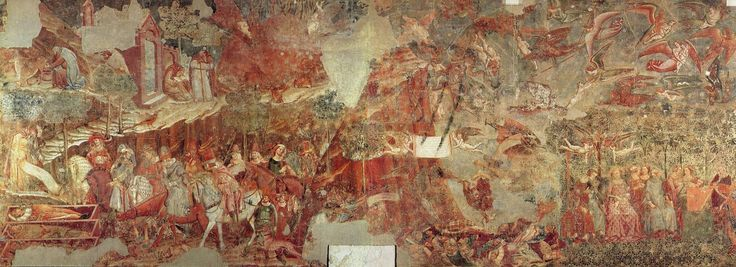 Буффальмакко. Триумф смерти, фреска. 1330е. Пиза, Кампосанто.