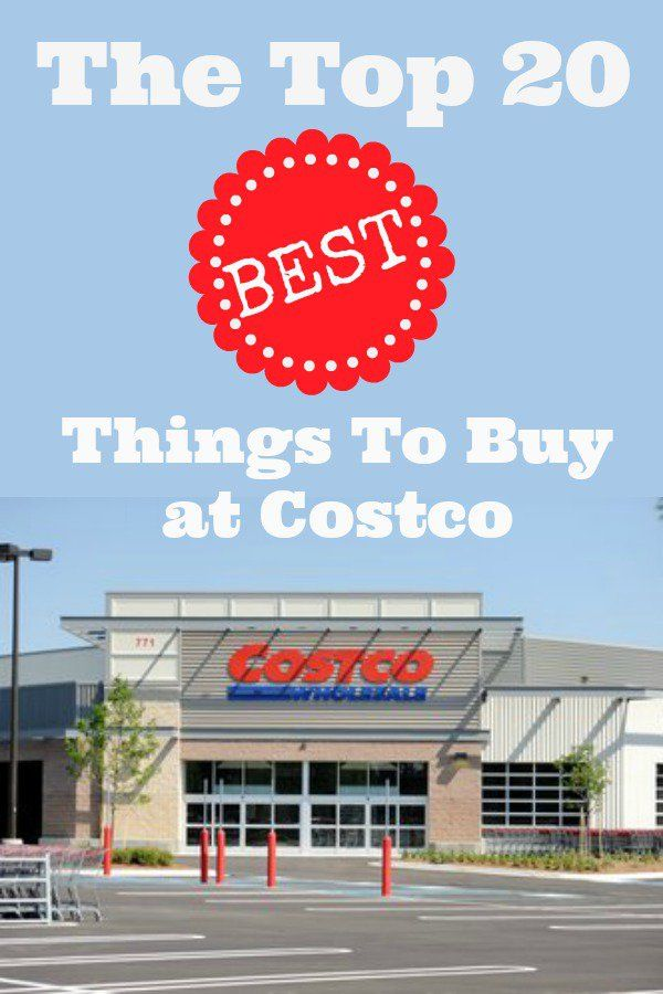 The Top 20 BEST Things To Buy at Costco