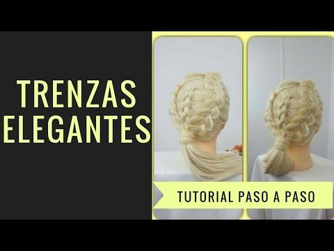 PEINADO RECOGIDO CON TRENZAS | ELEGANTE | DIANA ROJAS - YouTube