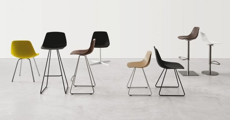Miunn chairs and stools by Lapalma