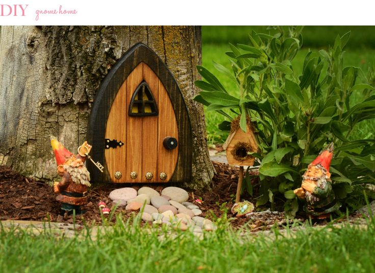 fairy garden doors | door is AMAZING! It was a must on my check-list for a fairy garden ...