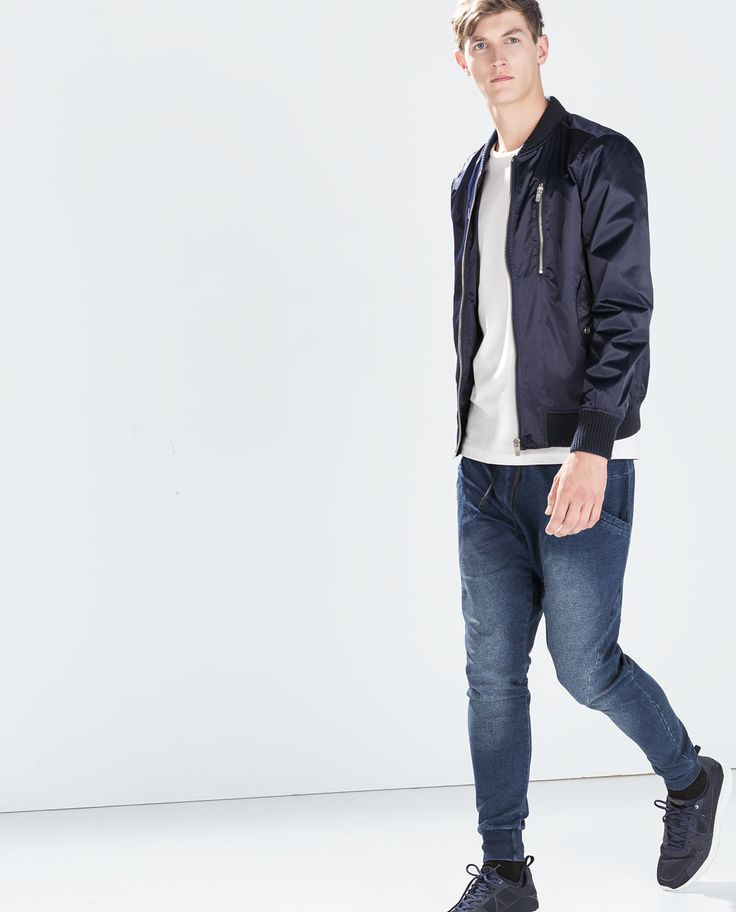 JEANS WITH SIDE POCKETS-Trousers-MAN-SALE AW.14   ZARA United States