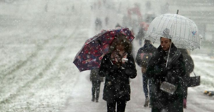 Two amber warnings have been issued with the 'beast from the east' set to bring Arctic temperatures to the UK and send mercury plummeting to -10C