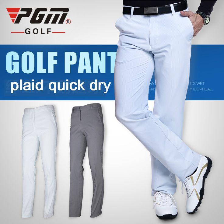 PGM Гольф Мужские Полосатые брюки Летние тонкие спортивные брюки гольф брюки для мужчин одежда упругой дышащий quick dry Плюс размер XXXL