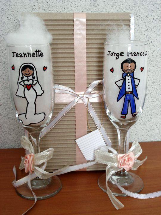 Copas para matrimonios...