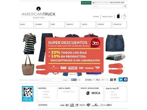 Tienda online de American Truck