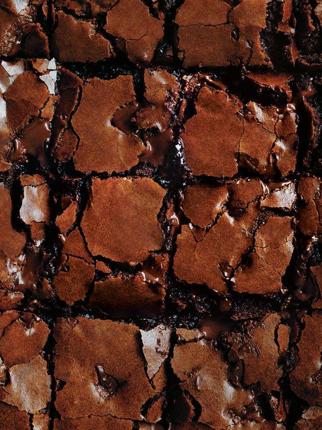 Molten Choc Chunk Brownies | Donna Hay