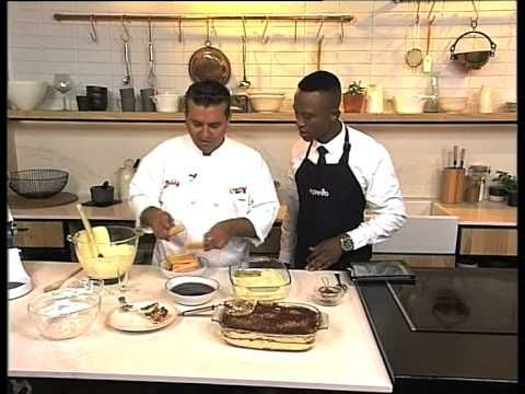 Buddy Valastro 'The Cake Boss' makes a Tiramisu - YouTube