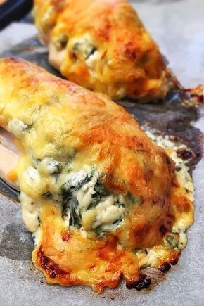 Hasselback csirkemell GmLm | sajtkrémes-sajtos