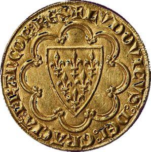Ecu dor de Saint Louis, 13 ème siècle
