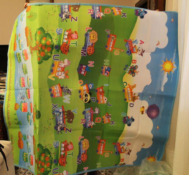 Compras aliexpress, alfombra para habitación de niños