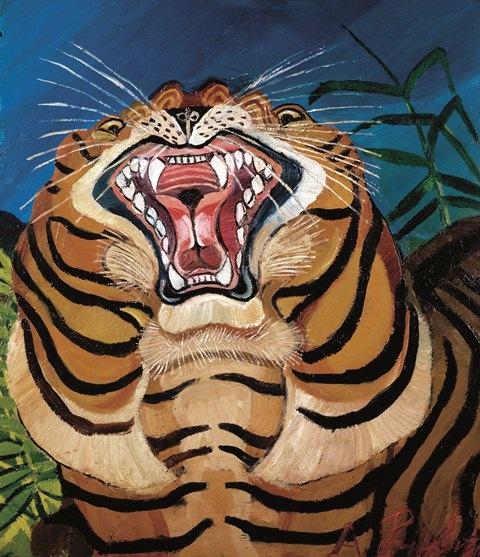 ligabue antonio_testa di tigre