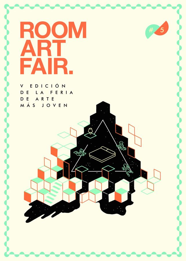 ROOM ART FAIR – MADRID'S MOST YOUTHFUL ART FAIR I made this drawing for a cool spanish art fair. I did it for my beloved friend Ana, who works a lot with the girls of Boreal Projects to make this happen.