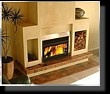Heatmaster wood fireplace installations.