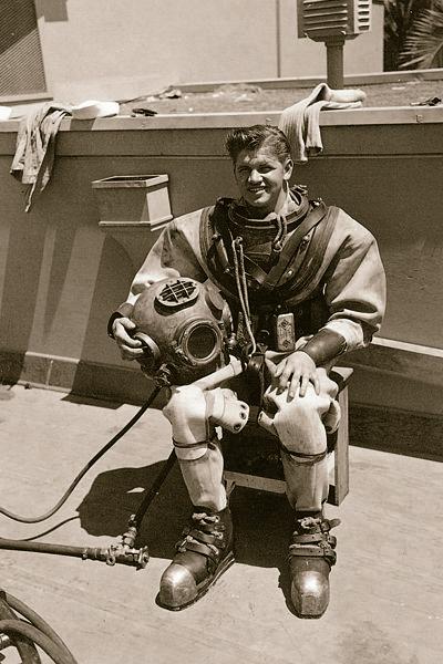 Operation Crossroads Navy Diver Charles Gaerke, 1940s
