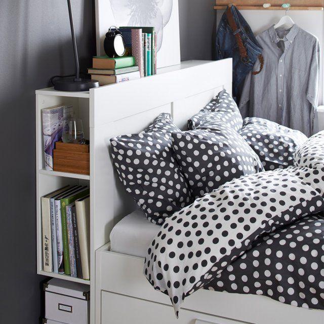 1000 id es sur le th me lit avec rangement sur pinterest. Black Bedroom Furniture Sets. Home Design Ideas