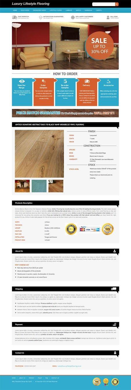 Professional eBay Listing Template | Create attractive eBay listing
