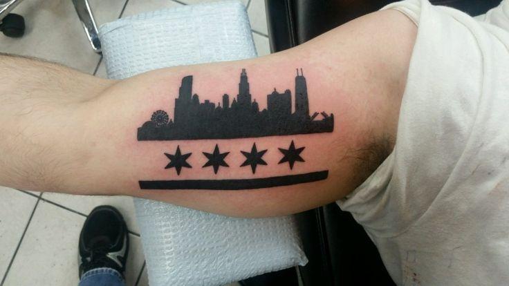 Angelo Tiffle at Royal Flesh Tattoo - Chicago