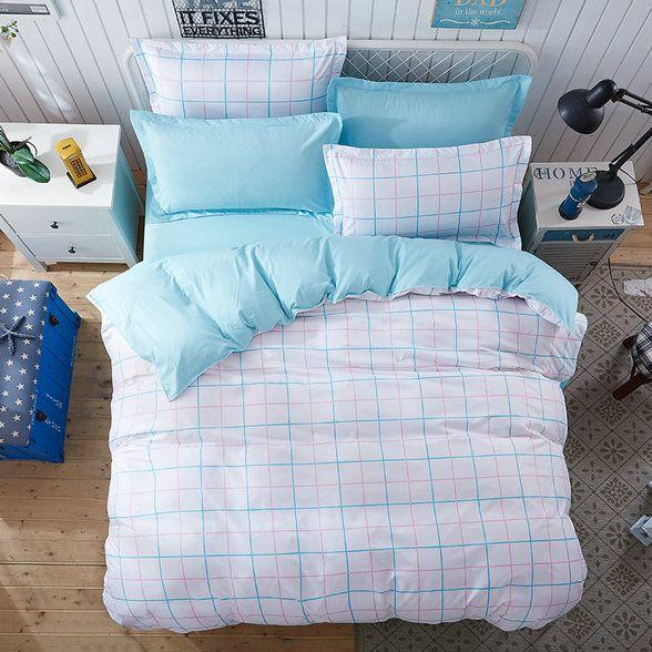 Biele posteľné oblečky obojstranné