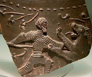 Depicting a gladiator