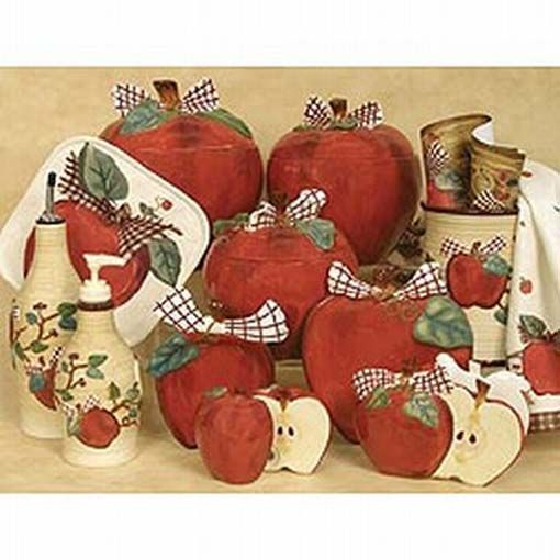 76 best images about Lori WademanRodrigue Apple Kitchen Decor