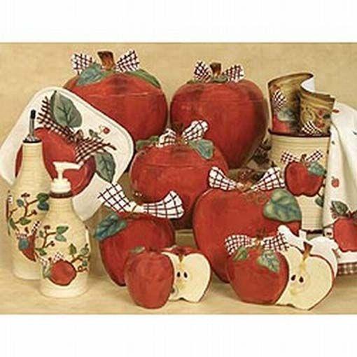 Ordinaire Apple Decorations For Kitchen | Apple Kitchen Decorating Ideas   Apple Decor  For The Kitchen