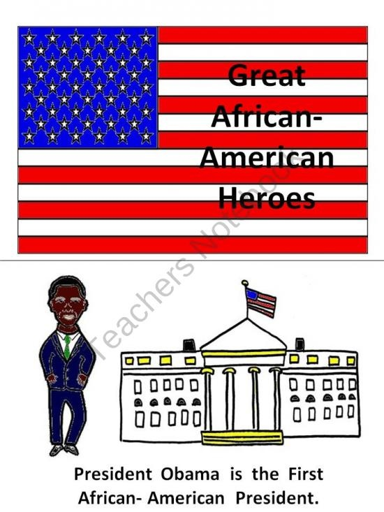 Great African-American Heroes Book product from Melissas-Corner on TeachersNotebook.com