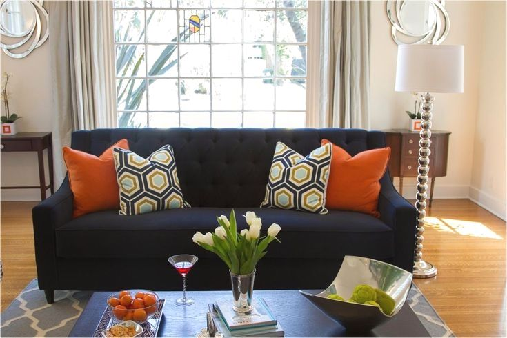 10 Most Popular Orange Living Room Accents